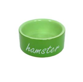 Boon hamster eetbak steen groen, Ø 8 cm.