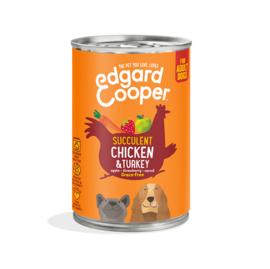 Edgard & Cooper  Kip en Kalkoen 400gr