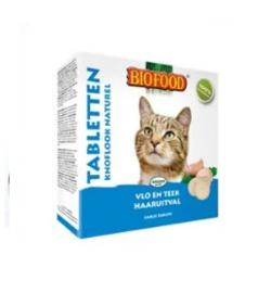 Biofood Kattensnoepjes Anti-vlo Knoflook Naturel 100 stuks