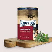 Happy Dog Pure Struisvogel 100% Struisvogelvlees 400gr
