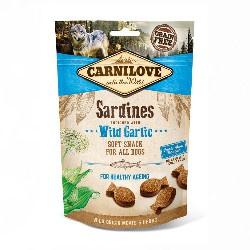 Carnilove Soft Snack Sardines/Wild Garlic 200gr