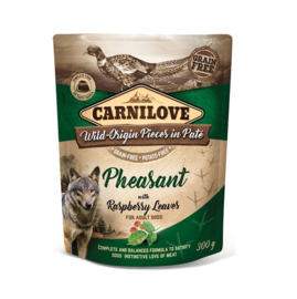 Carnilove Pouch Phaesant with Raspberry Leaves 300gr