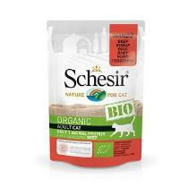 Schesir Cat Bio Beef 85gr