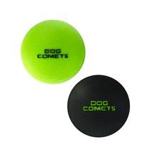 Dog Comets Ball Stardust Zwart/Groen M