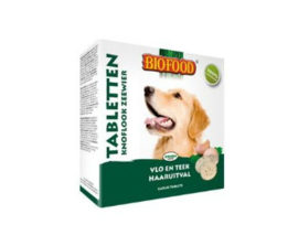 Biofood Hondensnoepjes Anti-vlo Knoflook/Zeewier 55 stuks