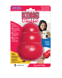 Kong hond Classic rubber XL, rood.