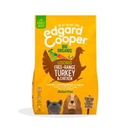 Edgard & Cooper Verse biokalkoen & biokip (vrije uitloop), 700gr