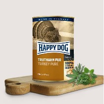 Happy Dog Pure Kalkoen 100% Kalkoen 800gr