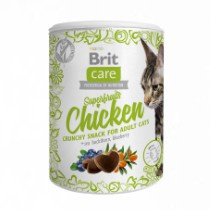 Brit Care Cat Snack Superfruits Chicken 50gr