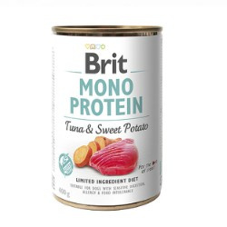 Brit Mono Protein Tuna/Sweet Potato 400gr
