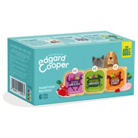 Edgard & Cooper Multipack Adult  Kip|Wild|Lam 6x100gr
