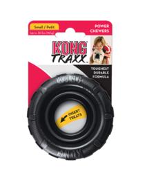 Kong hond Traxx zwart 9 cm, S.