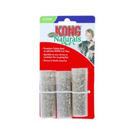 KONG kat Naturals, refillables kaart a 3 tubes catnip