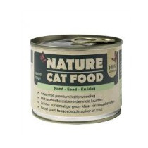 Nature Cat Food Rund/Eend/Kruiden 200gr