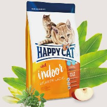 Happy Cat Indoor Atlantik-Lachs (Atlantische Zalm) 300gr