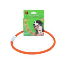 LED tube verstelbaar 20-70 cm oranje, USB oplaadbaar.