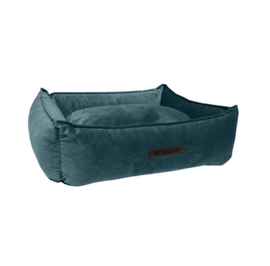 Mand Wooff Cocoon Velours S Petrol Small 60 x 40 x 18 cm