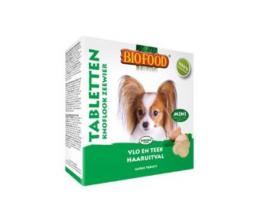 Biofood Hondensnoepjes Anti-Vlo Knoflook-Zeewier Mini 100 stuks