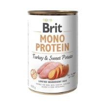 Brit Mono Protein Turkey/Sweet Potato 400gr