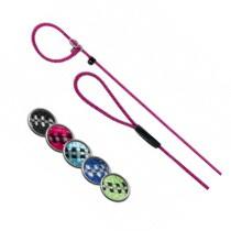 Trixie Sporty Rope Retriever Riem Fuchsia 13mm L/XL