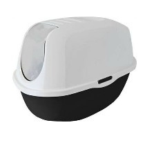 Moderna Smart Cat Toilet Zwart/Wit