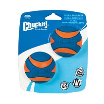 Chuckit Ultra Squeaker Ball 2 Pack M