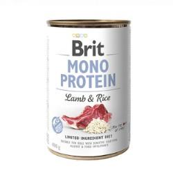 Brit Mono Protein Lamb/Rice 400gr