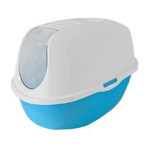 Moderna Smart Cat Toilet Fel Blauw/Wit