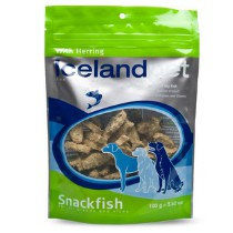 Icelandpet Snackfish Dog Treat Herring 100gr
