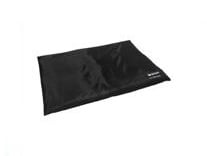 Wooff  Benchmat all weather Zwart Small 60x44 cm