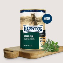Happy Dog Pure Paard 100% Paard 800gr