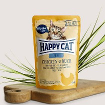 Happy Cat All Meat Adult Huhn/Ente 85gr