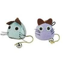 Crazy Cat Funny Mouse met Catnip Licht Blauw