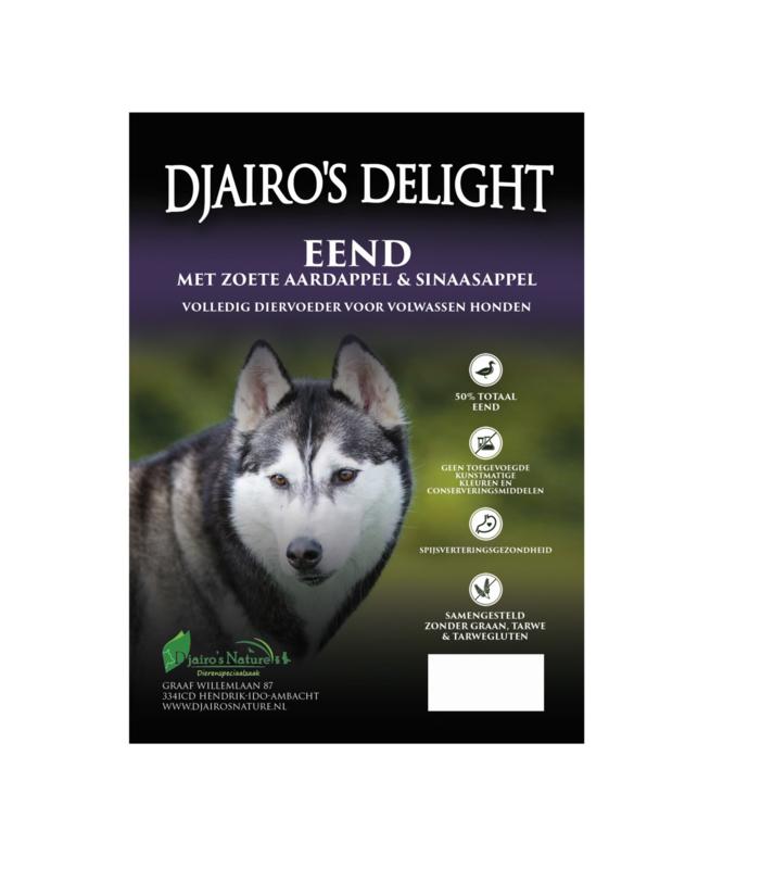 Djairo's Delight Adult Eend, 12kg