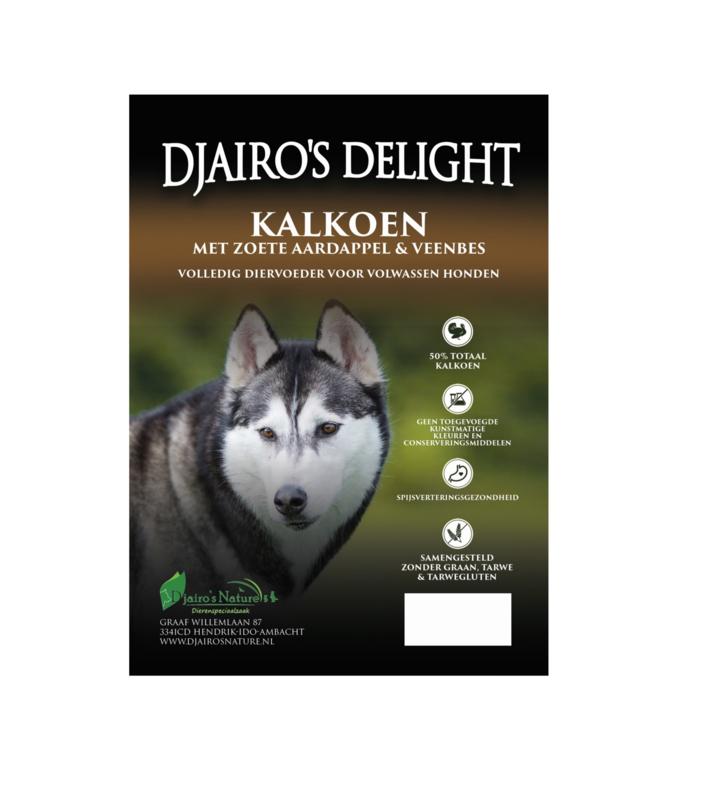 Djairo's Delight Adult Kalkoen, 2kg