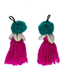 Pompom Very Cherry set