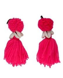 Pompom Strawberry   set