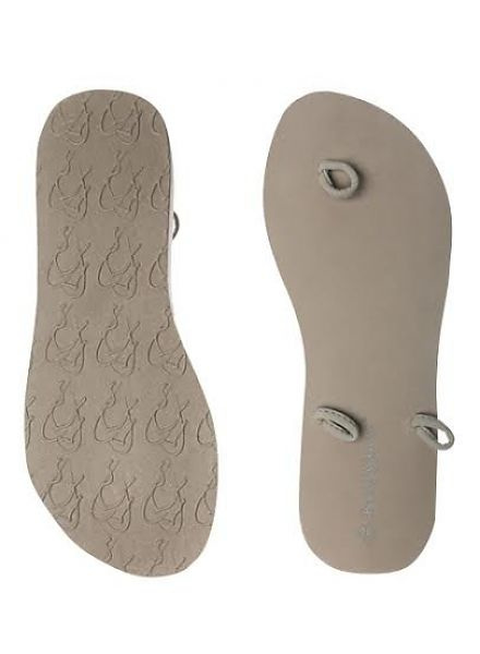 slipper low taupe