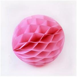 Honeycomb ball 30cm - roze