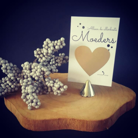 Kraskaart ''Alleen de allerbeste moeders''