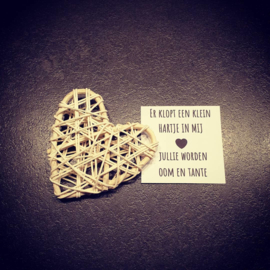 A tiny heart - Jullie worden oom en tante