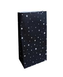 Blokzakje groot - kerst - little stars