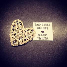 A tiny heart is - Wij zijn in verwachting