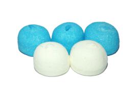 Spekbollen blauw-wit