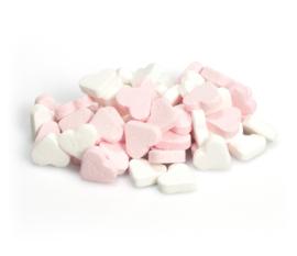 Pepermunthartjes roze-wit