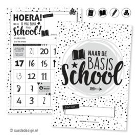 Basisschool aftelposter   Hoera! Ik mag bijna naar school!