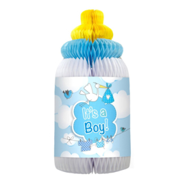 Honeycomb babyfles - it's a boy