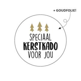 Sticker - kerst - speciaal kerstkado voor jou