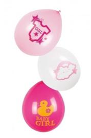 Ballonnen - Baby girl