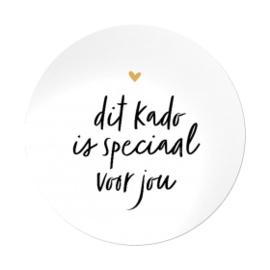 Sticker - Dit kado is speciaal voor jou